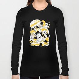 Desu~!!: Yellow Long Sleeve T-shirt