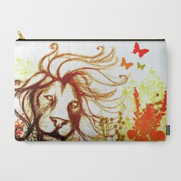 Beast and the Butterflies Carry-All Pouch