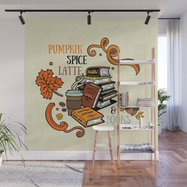 PSL & Books Wall Mural