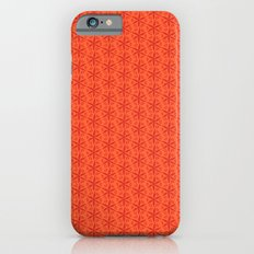 Aztek floral orange 4 Slim Case iPhone 6s