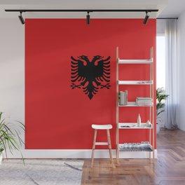 Albanian Flag - Hight Quality image Wall Mural