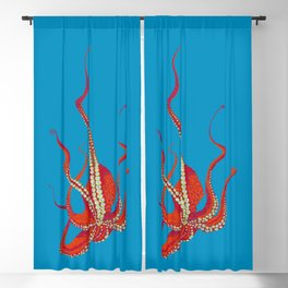 Stitches: Octopus Blackout Curtain