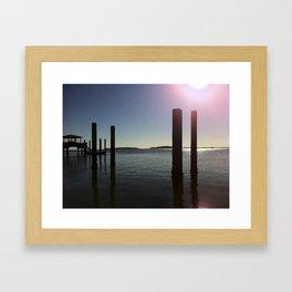 Missing Tybee Framed Art Print
