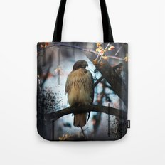 A Hawks Dream Tote Bag