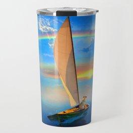 I'm Sailing Away Travel Mug