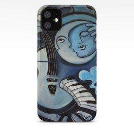 Black & Bleu iPhone Case