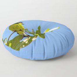 Yellow Bird - II Floor Pillow