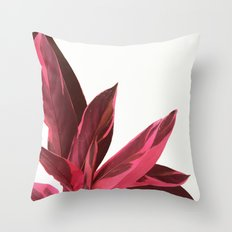 Red Leaves II Throw Pillow