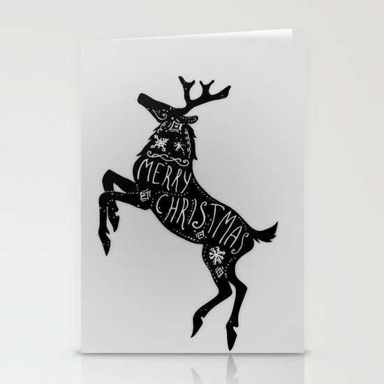 Merry Christmas Stationery Cards