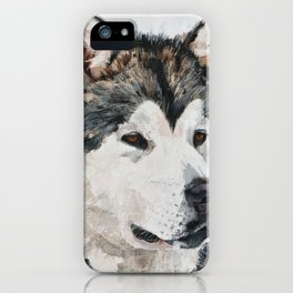 Best Friend husky iPhone Case