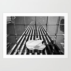 Big Apple - New York City | B/W Art Print