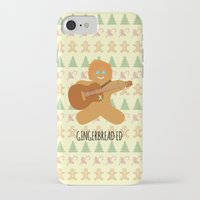 ed sheeran iPhone & iPod Cases featuring Gingerbread Ed by Laura Maria Designs