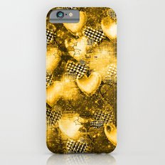 Light Bulb Hearts Series (Gold) iPhone 6s Slim Case