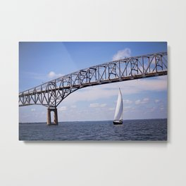 Sail Away Color Metal Print