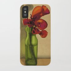 Calla lilies in bloom Slim Case iPhone X