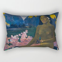 "Paul Gauguin ""Te Aa No Areois (The Seed of the Areoi)"" Rectangular Pillow"