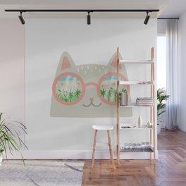 va-CAT-ion Wall Mural