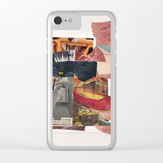D.R.G.M. Clear iPhone Case