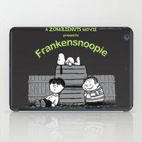 snoopy iPad Cases featuring Frankensnoopie by pigboom el crapo