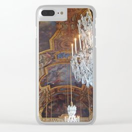 Chandeliers of Versailles Clear iPhone Case