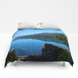 Lake McDonald Impression Comforters