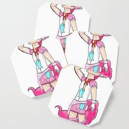 Magical Bronie Boy Pinkie Pie Coaster