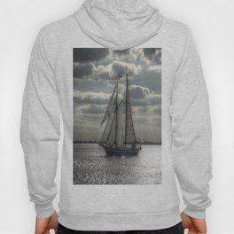Sailing in the evening Hoody