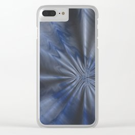 Creased Sky Clear iPhone Case