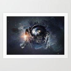 Maybe Planetary Art Print