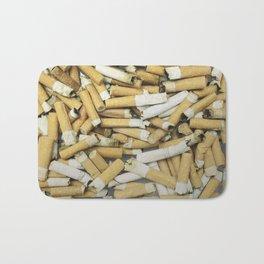 Cigarette butts dirty Bath Mat