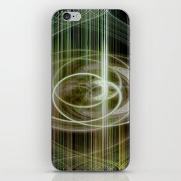 lineae abstracta iPhone Skin