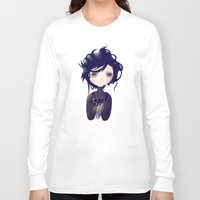 nan lawson Long Sleeve T-shirts featuring Edward by Nan Lawson