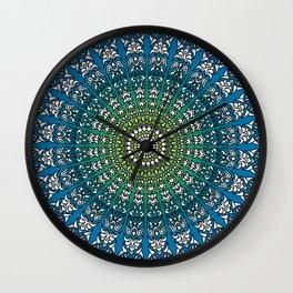 Harmonic Mandala Wall Clock