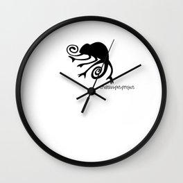 Chameleon Wall Clock