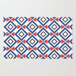 Small square and arrows Rug