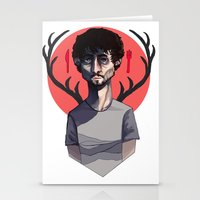 will graham Stationery Cards featuring Will Graham by nucleir