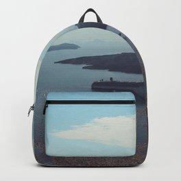 Santorini, Greece 15 Backpack