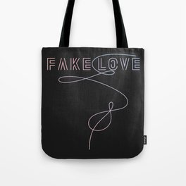 BTS - Fake Love Tote Bag