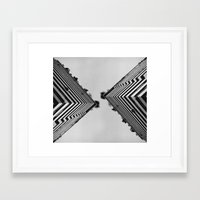 building Framed Art Prints featuring Building by Paula Sprenger