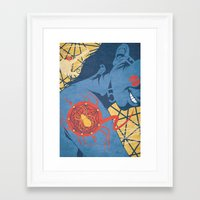spider Framed Art Prints featuring SPIDER by Armin Barducci