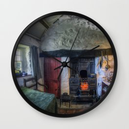 Olde Country Home Wall Clock
