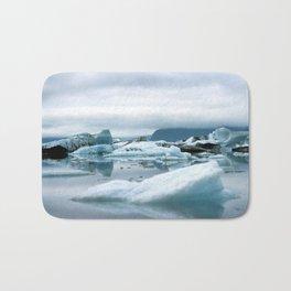 Ice Antartica Bath Mat