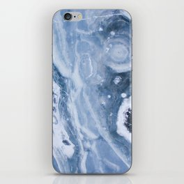 Frozen Blue Water iPhone Skin
