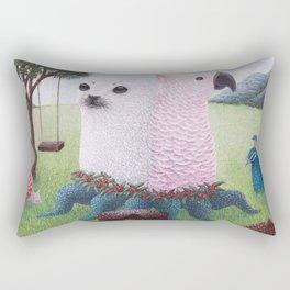Bipolar Dunch Rectangular Pillow