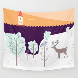Wild Light Wall Tapestry
