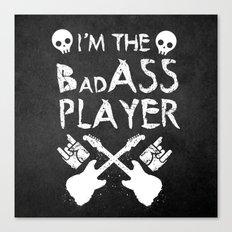 BadASS Player Canvas Print
