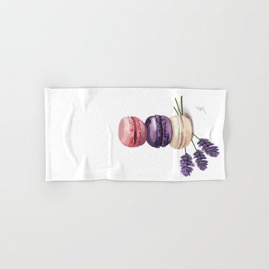 Macarons Hand & Bath Towel