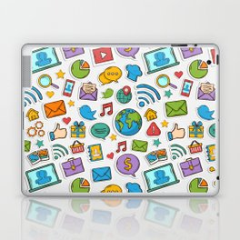 Like me all over the world Laptop & iPad Skin