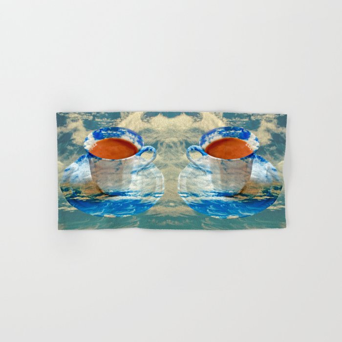 CUP OF CLOUDS Hand & Bath Towel