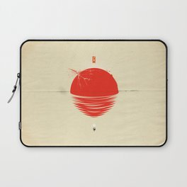 """Japan relief poster/all proceeds will go to """"Peace Winds"""" Laptop Sleeve"""